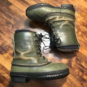 Sorel Boots- Army Green